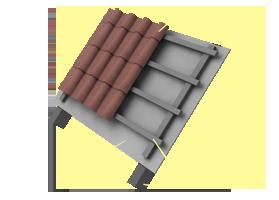 Применение пароизоляции «Brane ALU» В конструкциях неутепленной кровли