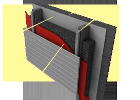 Применение пароизоляции «Brane ALU» В конструкции стен