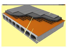 Применение материала «Brane C» в конструкции пола на бетонном основании