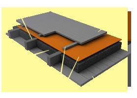 Применение материала «Brane C» в конструкциях перекрытий