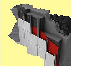 Применение материала «Brane A-Vent» в конструкции вентилируемых фасадов