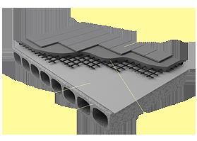 Применение материала «Brane Armo» в конструкции пола на бетонном основании
