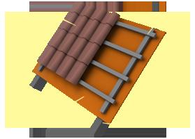 Применение материала «Brane C» в конструкции неутепленной кровли