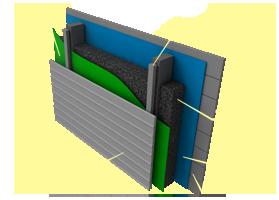 Применение материала «Brane SM» в вентилируемых фасадах