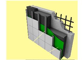 Применение материала «Brane SM» в конструкциях стен с наружным утеплением