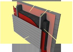 Применение теплоизоляции «Brane Thermo» в конструкции стен